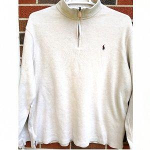 Polo by Ralph Lauren men's XXL quarter zip sweater